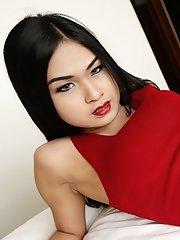 Ladyboy nokyu is half thai half cambodian shes very