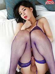 TWENTY YEARS young Mayumi Harukaze started life on the site with a stomping hardcore scene which immediately established her as serious hot property a